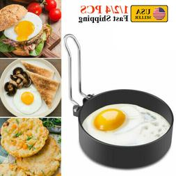 1/2/4PCS Stainless Steel Fried Egg Rings Non Stick Pancake O