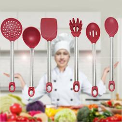 Chefraun 1-2pcs Kitchen Cooking Silicone Utensil Tool Set Sp