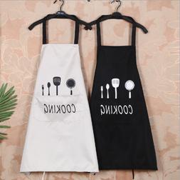 1 Pcs Waterproof Apron Cooking Bib Vest Women Cute Cartoon A