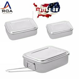 1 Stainless food container, great for camping, traveling,hik