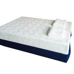 """10"""" Queen Size Cool Medium-Firm Memory Foam Mattress Bed wit"""