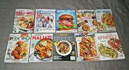 10 COOKING Recipes MAGAZINEs 2020 BRAND NEW Free USA Shippin