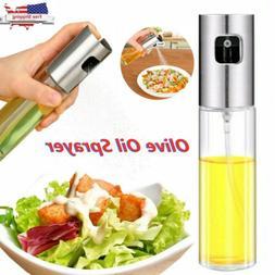 100ML Kitchen Olive Oil Vinegar Sprayer Cooking Mister Spray