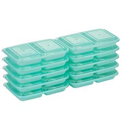 Good Cook 10786 Meal Prep on Fleek, 2 Snack Compartments BPA
