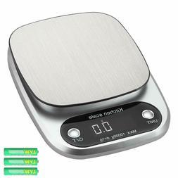 10kg/22lb Wide Range Digital Kitchen Food Scale Cooking Baki