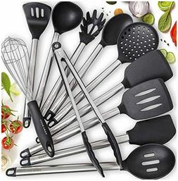 Home Hero 11 Silicone Cooking Utensils Kitchen Utensil Set -