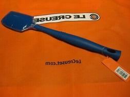 "Le Creuset 12.5"" Medium Spatula Cobalt Blue Solid All Silico"