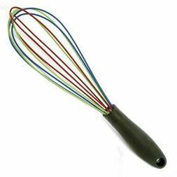 """Norpro 12"""" Colorful Grip-EZ Non-Stick Silicone Wrapped Wire"""