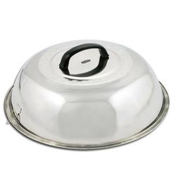14 Inch Round Basting Cover Stainless Steel Grill BBQ Wok Co