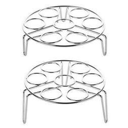 2-Pack:Cooking Rack Round 304 Stainless Steel Baking and C