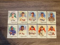 2020 TOPPS ALLEN & GINTER - BASE CARDS & MINI'S  - YOU PICK