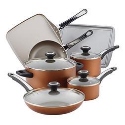 Farberware High Performance Nonstick Aluminum Cookware Set,