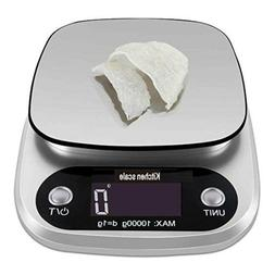 22lb Digital Kitchen Scale Weight Grams and oz for Cooking B