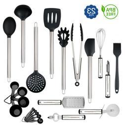 23x Kitchen Aid Nonstick Utensils Set Best Cooking Tool Stai