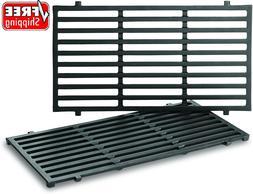 2Pk Replacement BBQ Cast Iron Cooking Grid Grates for Weber