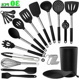 30PCS Silicone Kitchen Cooking Utensil Set - ADINC 480? Heat