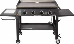 """36"""" Propane Gas Griddle Cooking Station - 4 Burner, Classic"""