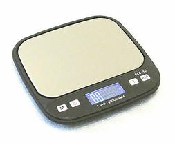 SlimWise 3kgx0.1g Digital Portable Scale with Back-lit LCD,