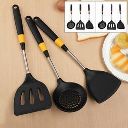 3pcs Cooking Utensil Set Heat Resistant Non-stick Cookware S