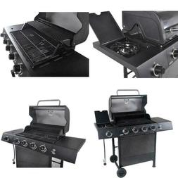 4-Burner Gas Grill with Side Burner 480'' square inch Outdoo