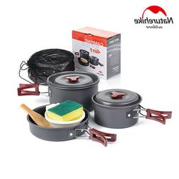 Naturehike 4-in-1 Pot Set Portable Camping Picnic Cooking Po