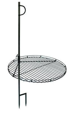 """46"""" Portable Swing Away Wood Fire Cooking Grill Grate Campfi"""