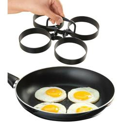 4pcs stainless steel fried egg rings non