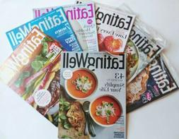 5 Eating Well Cooking Magazine NEWEST 2020 Lot Food Travel C