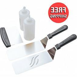 5-Piece Griddle Spatula Squeeze Bottle Cooking Kit Kitchen T