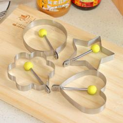 5 Shapes Creative Nonstick Pancake Fried Egg Ring Mold Mould