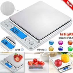 500g Stainless Steel Digital LCD Electronic Kitchen Cooking
