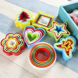 5pcs/6pcs/Set Cookie Cutter Cake Mold Biscuit Fondant DIY Ca