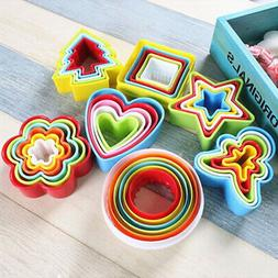 5pcs set cookie cutter cake mold biscuit