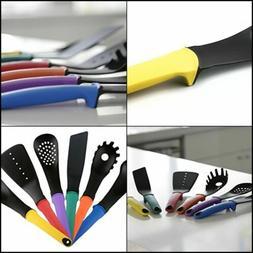 6 Piece Black Non-stick Nylon Kitchen Tool Set Cooking Tools