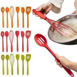 6pc Silicone Kitchen Utensil Set Farberware Non-Scratch Cook