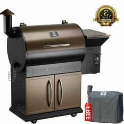 Z GRILLS Wood Pellet Grill 8 in 1 BBQ Smoked Grill 700 SQIN