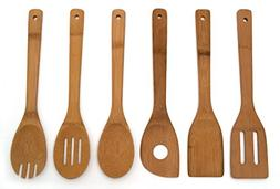 Lipper International 826 Set of 6 Bamboo Kitchen Tools, in M