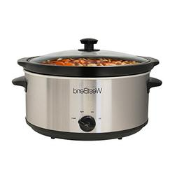 West Bend 87156 Oval Manual Slow Cooker with Ceramic Cooking