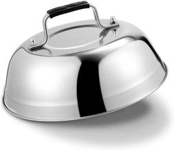 """9"""" Basting Cover Griddle Grill Cooking Steamer Melting Dome"""