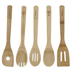 Good Cook 5-Piece Bamboo Utensil Set