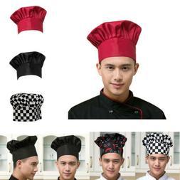 Adjustable Men Elastic Kitchen Baker Comfortable Cook Hat Ch