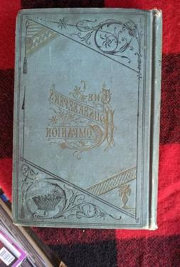 Antique 1883 The Housekeeper's Companion VG hardcover Practi