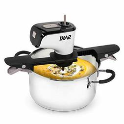 SAKI Automatic Pot Stirrer for Cooking, with 2 speeds, Adjus