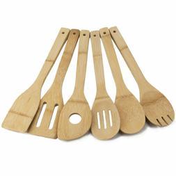 Bamboo Wooden Eco-friendly Kitchen Cooking Utensils Gadget