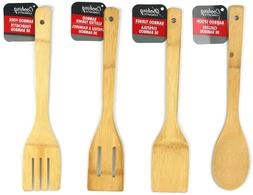 Cooking Concepts Bamboo wooden Kitchen Utensils turner fork