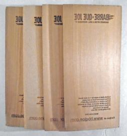 BARBE-QUE JOE - SET of 4 - CEDAR WOOD BBQ PLANKS - BBQ GRILL