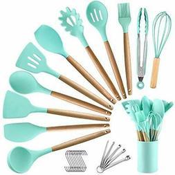 BECBOLDF 27 Kitchen Utensil Set - Silicone Cooking Utensils