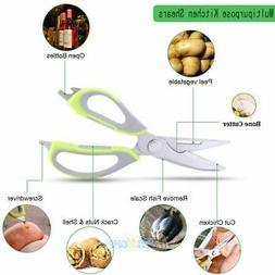 Best 7-in-1 Heavy Duty Multi-purpose Cooking Scissors Shears