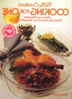 Betty Crocker's Cooking for One New 2nd edition softcover