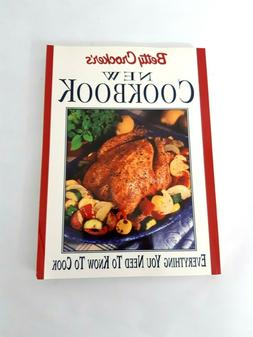 Betty Crocker's New Cookbook 3 Book Lot + International and